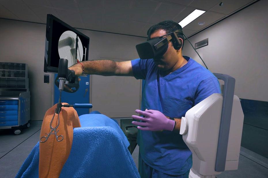 La réalité virtuelle dans l'apprentissage des chirurgiens